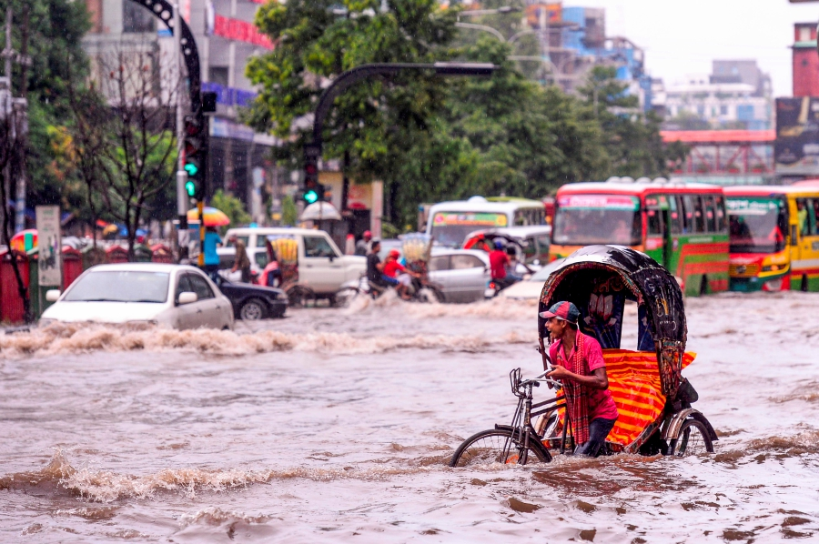 Monsoon rains wreaking flood h...