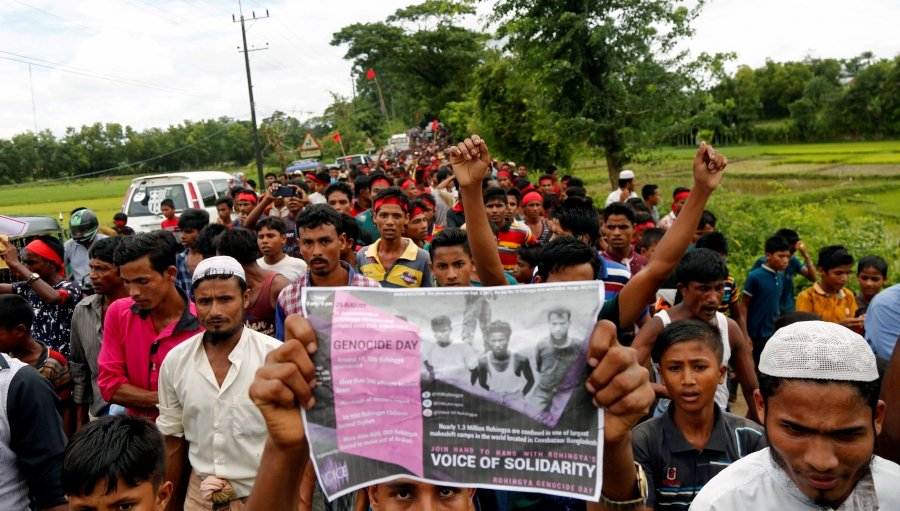 Militant group claims 'legitimate right' to defend Rohingya