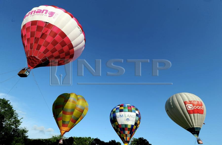 penang air balloon festival to return in february new straits