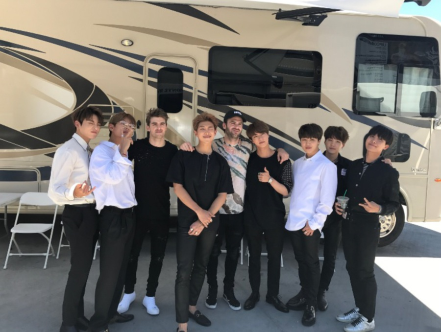 The Chainsmokers to join BTS on new EP