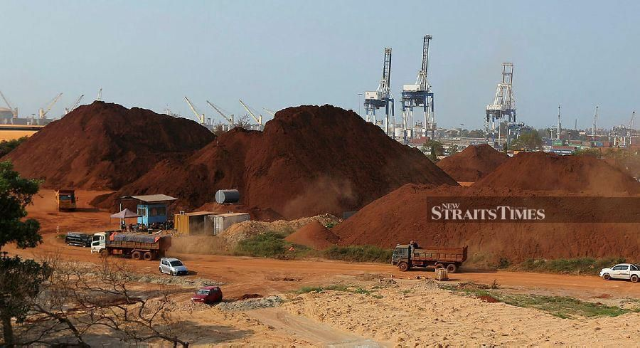 Bauxite mining operations can begin anytime now so long as the operators are able to abide by the standard operating operators (SOP) set by the Water, Land and Natural Resources Ministry.  - NSTP File pic