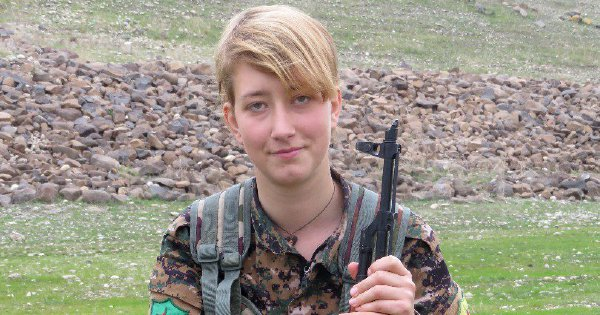 British woman killed fighting alongside Kurds in Syria's Afrin