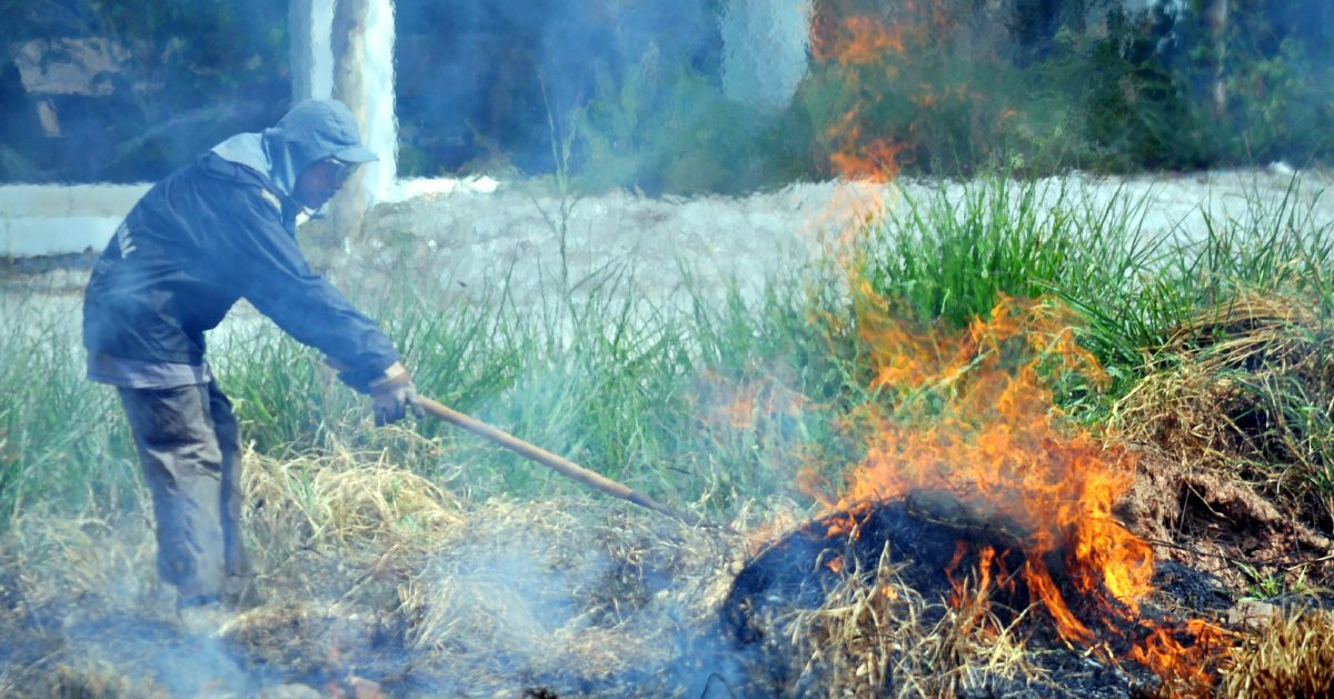 Environment Ministry calls for freeze on open burning permits; cites dry monsoon