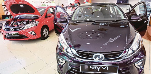 Bookings for new Myvi open, prices start from RM44,300 | New
