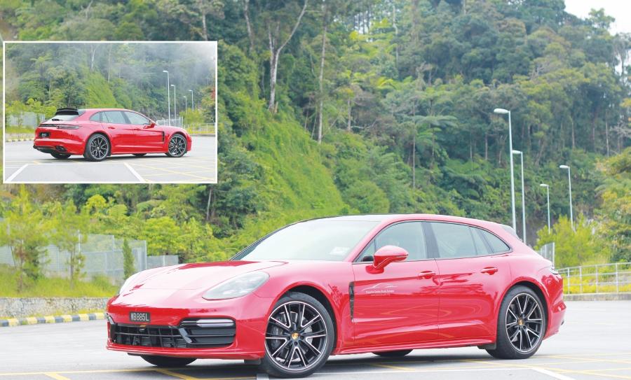 Panamera 4 Sport Turismo Porsche S Dual Purpose Sports Car New