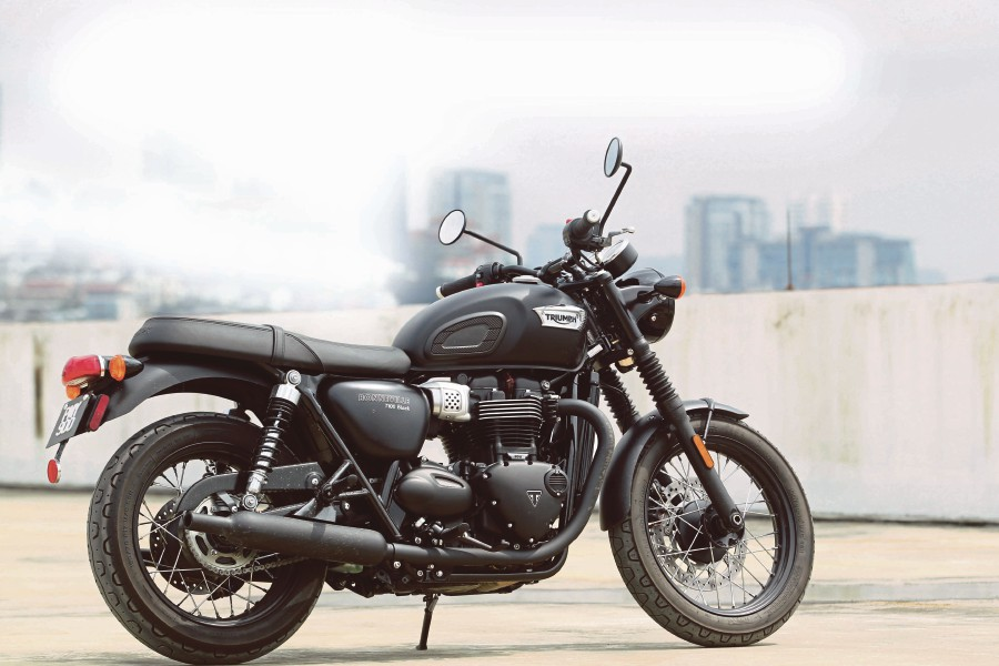 T100 Black: Triumph's timeless Bonneville | New Straits