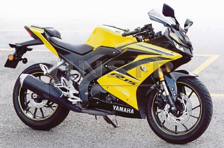 Review] YZF-R15: Yamaha's pint-sized screamer | New Straits