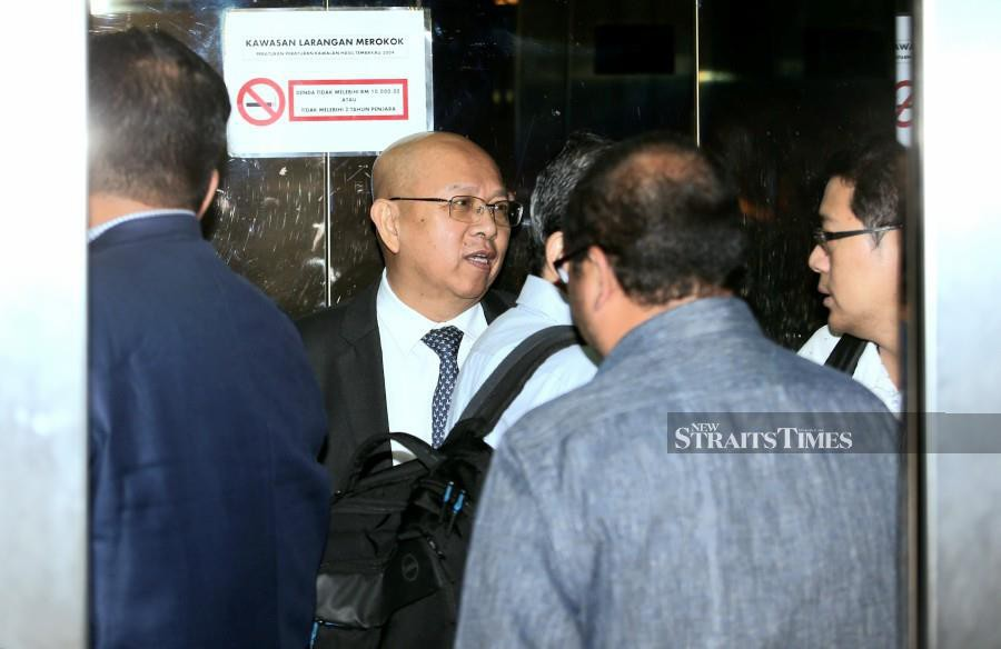 Deputy MD of Datasonic Group Berhad Chew Ben Ben at the KL High Court today. - NSTP/EIZAIRI SHAMSUDIN