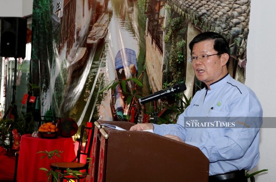 Chief Minister Chow Kon Yeow has assured that Penang will incorporate all the good practices. -NSTP/MIKAIL ONG