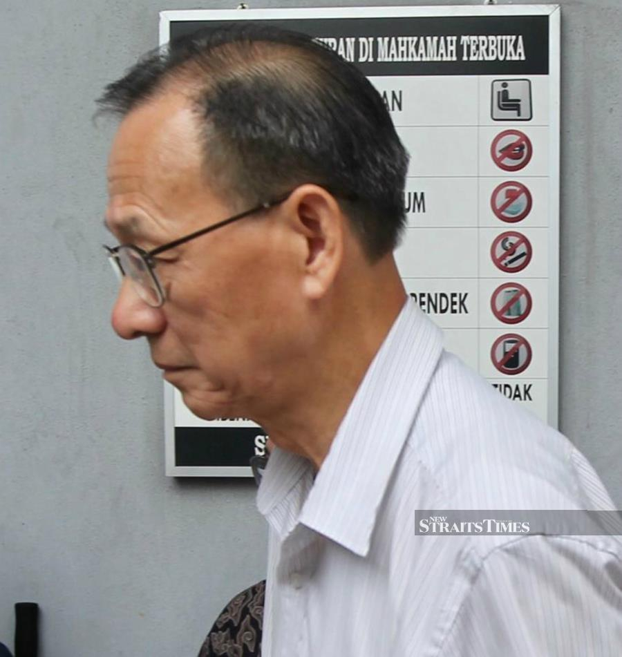 Lysaght Galvanized Steel Bhd which represented by its director and chief executive officer, Chua Tia Bon pleaded guilty when the charge was read to him before Judge Norashima Khalid. - NSTP/EMAIL