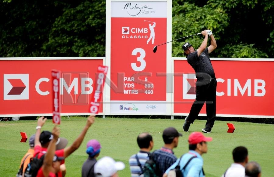 After nine-years, Southeast Asia's sole PGA Tour-sanctioned tournament the CIMB Classic, bids farewell. Pic by NSTP/EIZAIRI SHAMSUDIN