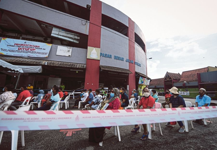 4 from Jalan Othman market test positive for Covid-19