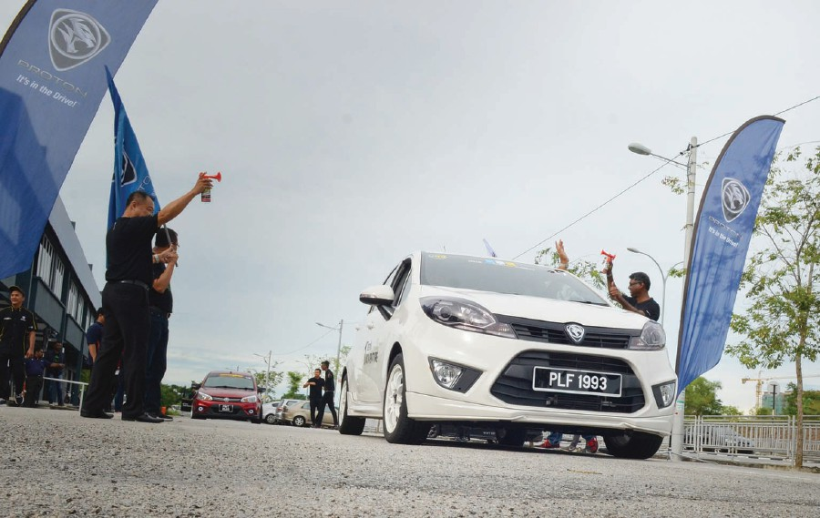 600km on a tank of fuel with Proton | New Straits Times