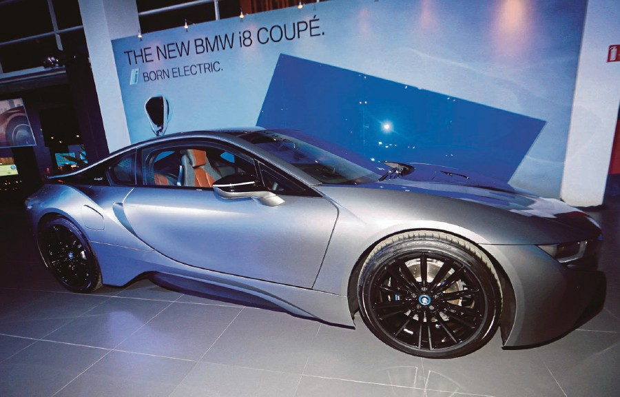 Bmw Group Malaysia Launches New I8 Focus On E Mobility New