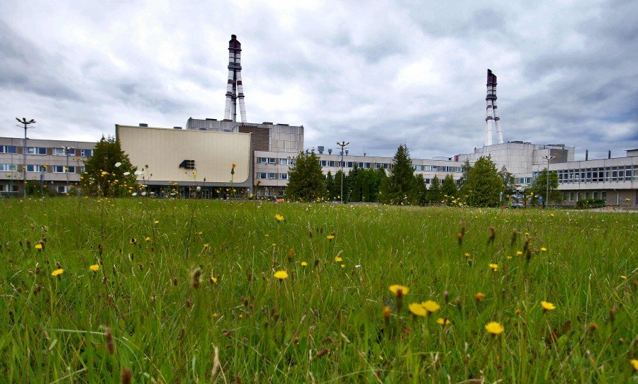 The Ignalina nuclear power plant is pictured in Visaginas, Lithuania. - AFP