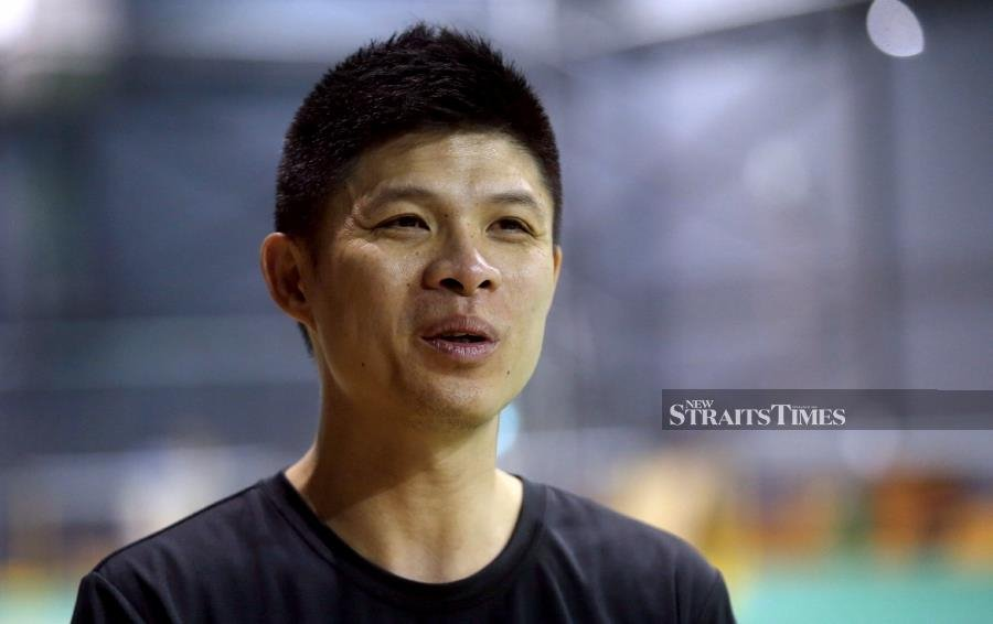 BAM coaching director Wong Choong Hann has heaped praises on the national women's squad and men's singles Cheam June Wei for their outstanding performances at the recent Badminton Asia Team Championships in Manila. - NSTP/MOHAMAD SHAHRIL BADRI SAALI