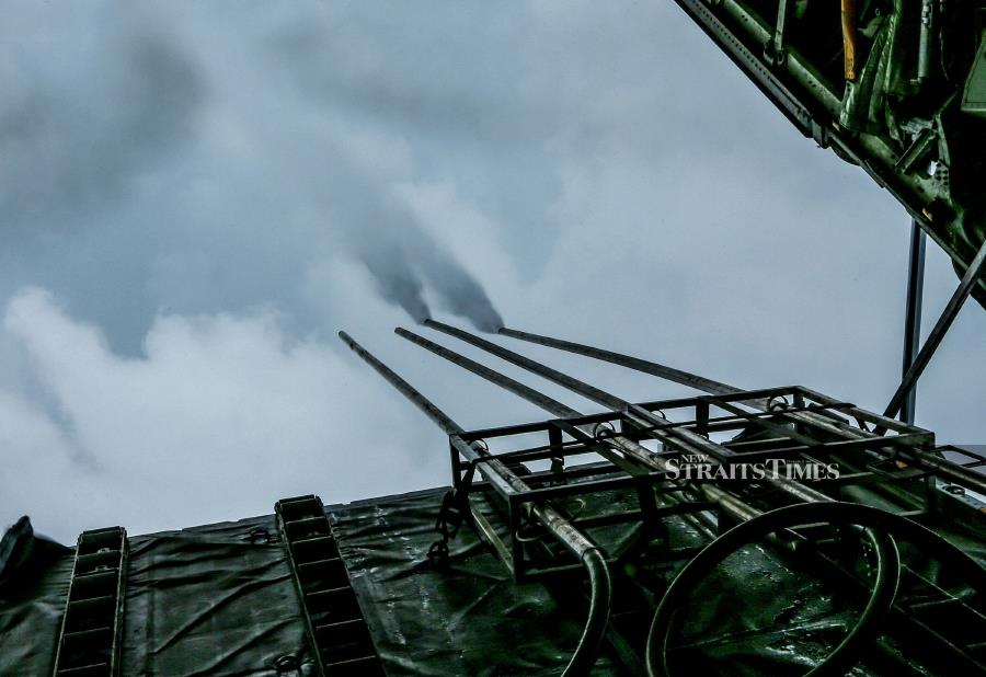 The aim of a cloud seeding operation up north is to increase rainfall at water retention areas and dams in Kedah and Penang. - NSTP file pic (For illustration purposes only).