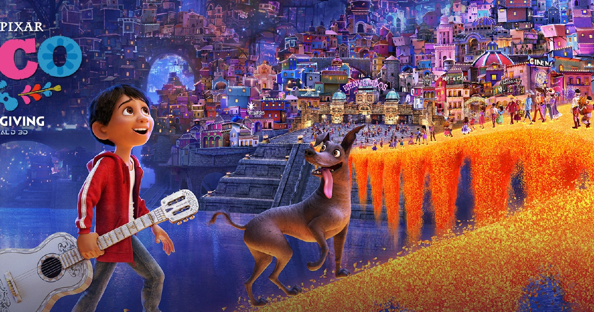 It's just a graphic of Striking Coco Movie Images