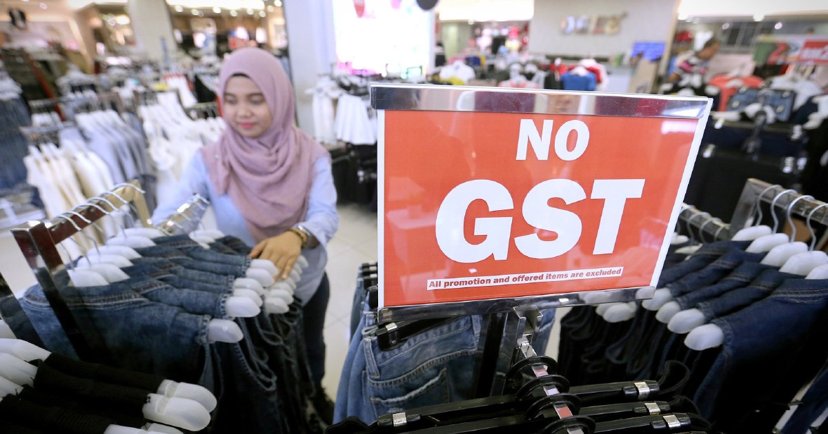'Instead of re-introducing GST, consider other forms of tax'