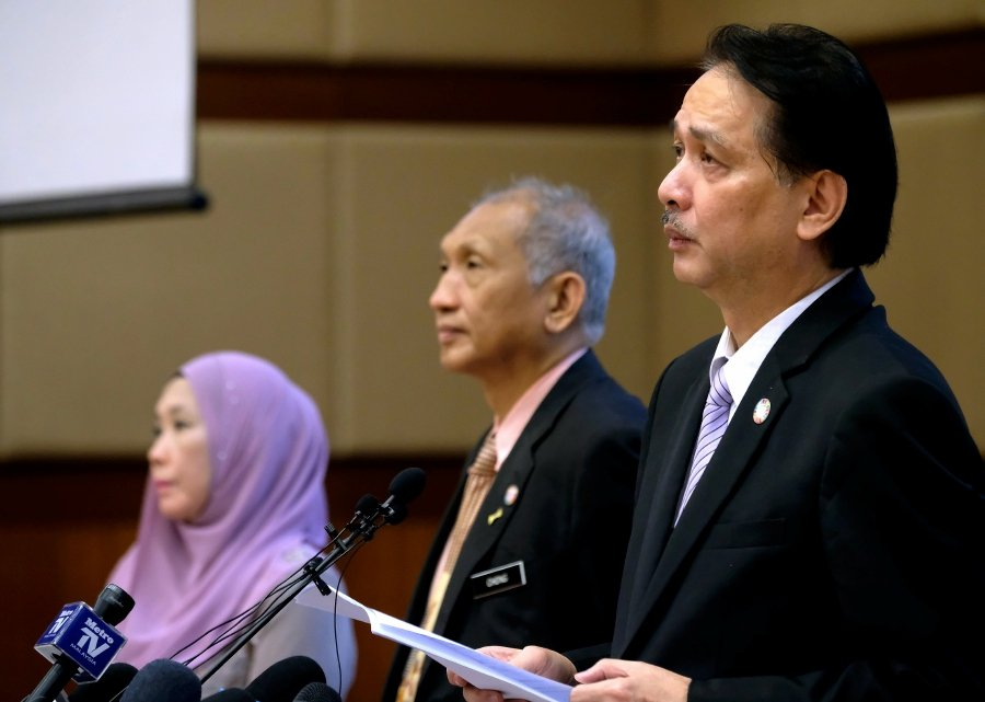 Health director-general Datuk Dr Noor Hisham Abdullah said instead the public should remain vigilant and abide by the standard operating procedures (SOPs) as outlined by the ministry and take preventive measures at all times. - Bernama pic