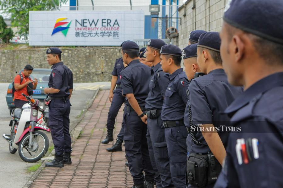 Inspector-General of Police (IGP) Tan Sri Abdul Hamid Bador said the court order obtained by Kajang police to cancel the rally was done in the interest of security. NSTP/AIZUDDIN SAAD.