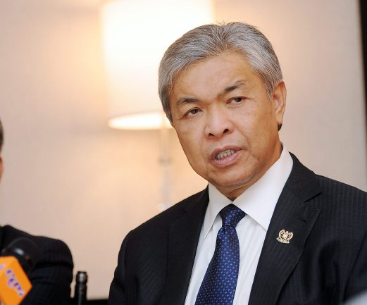 (File pix) Deputy Prime Minister Datuk Seri Dr Ahmad Zahid Hamidi will make an official visit to Saudi Arabia from today until Oct 16, the Foreign Ministry said today. Bernama Photo