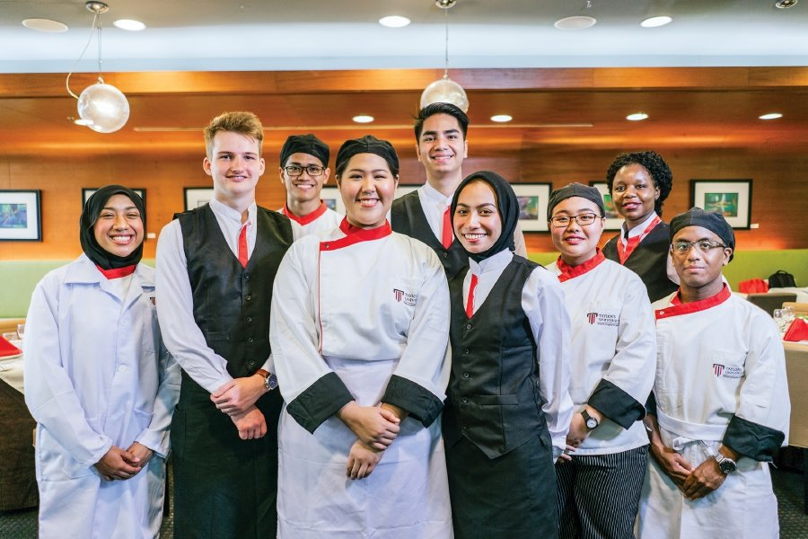 Taylor's University Culinary and Hospitality Management programme, which is ranked among the top 20 in the world, attracts students from all over the world.