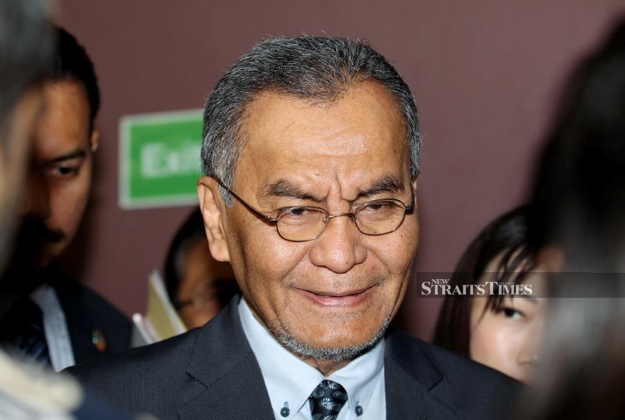 Minister of Health, Malaysia, Datuk Seri Dr Dzulkefly Ahmad during Decriminalizing Drug Use And Possession Forum at University Of Malaya. -NSTP/EIZAIRI SHAMSUDIN
