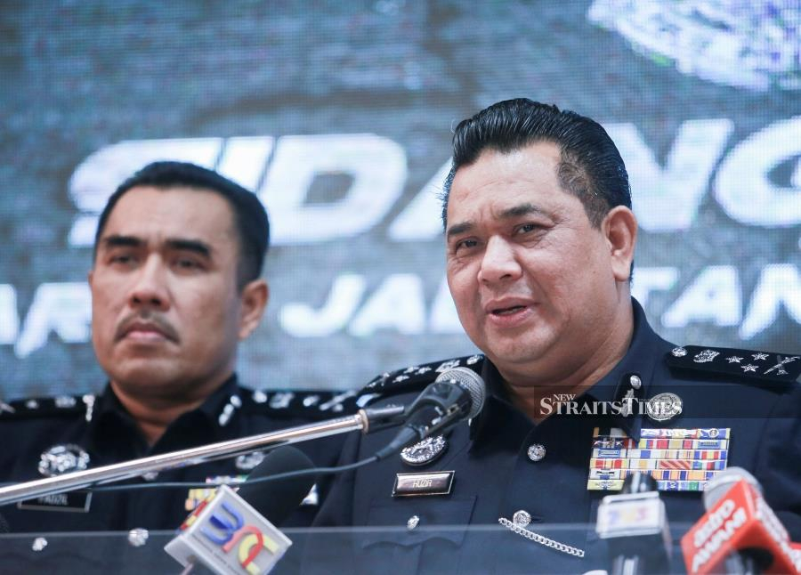 Federal Criminal Investigation Department director Datuk Huzir Mohamed said this was based on information he had received on the incident, where the victim claimed that the duo arrived at the scene 17-minutes after placing an emergency call. - NSTP/SAIRIEN NAFIS