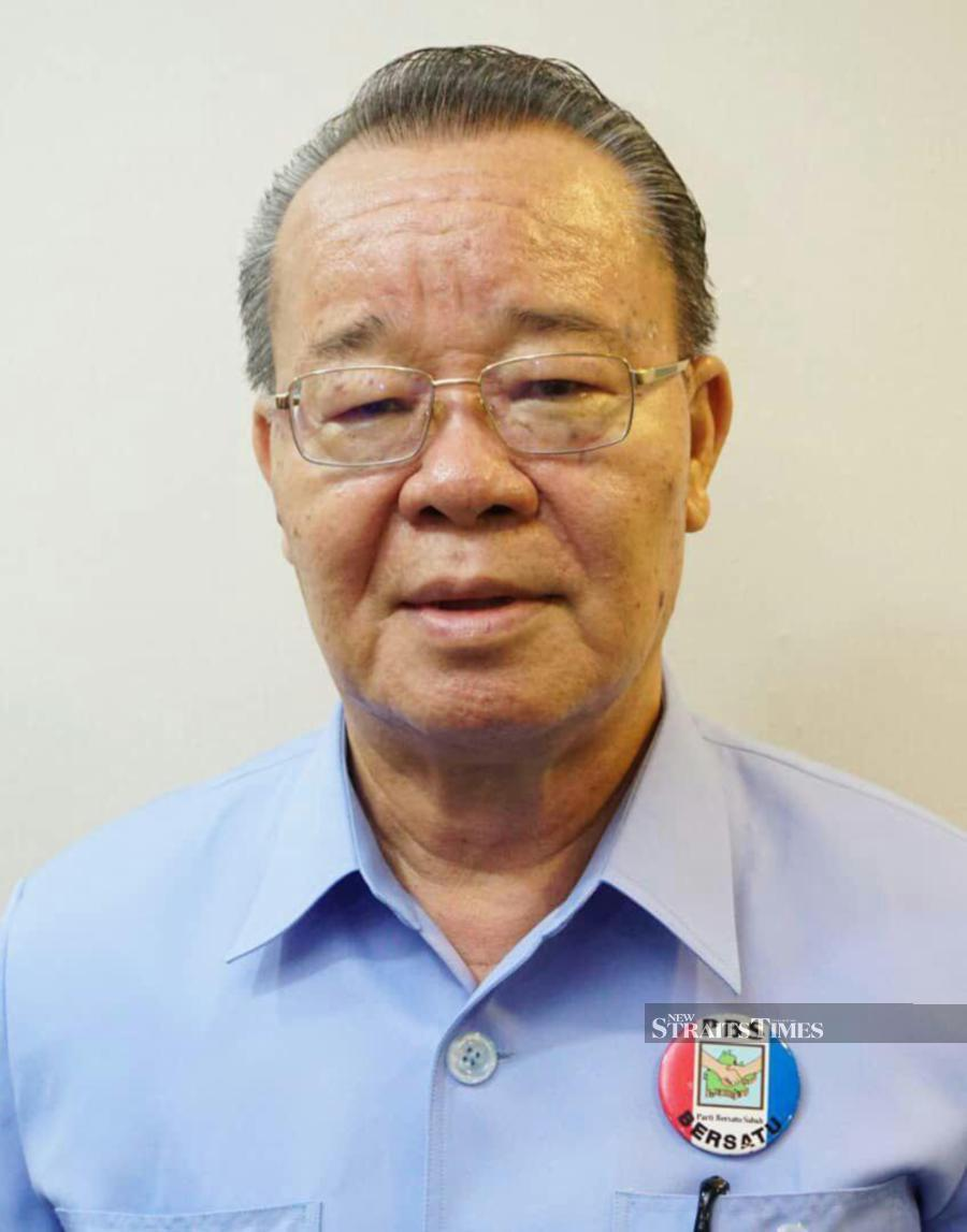 Parti Bersatu Sabah (PBS) deputy president Datuk Radin Malleh said the party was determined to bring a motion of anti-party hopping law to the State Legislative Assembly sitting. - Pic courtesy of PBS.