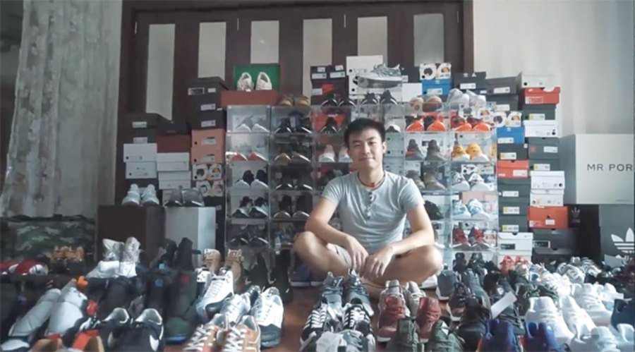 bb1f02a31ed0 Crazy for sneakers
