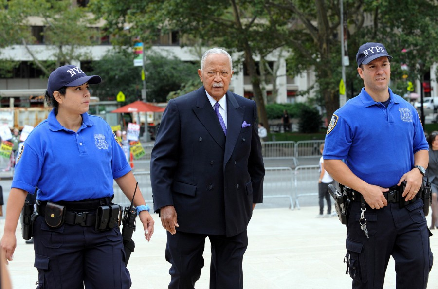 Former New York City Mayor David Dinkins attends a Memorial Service for the long time CBS News Anchor Walter Cronkite at Lincoln Center in New York, USA, September 9. - EPA pic