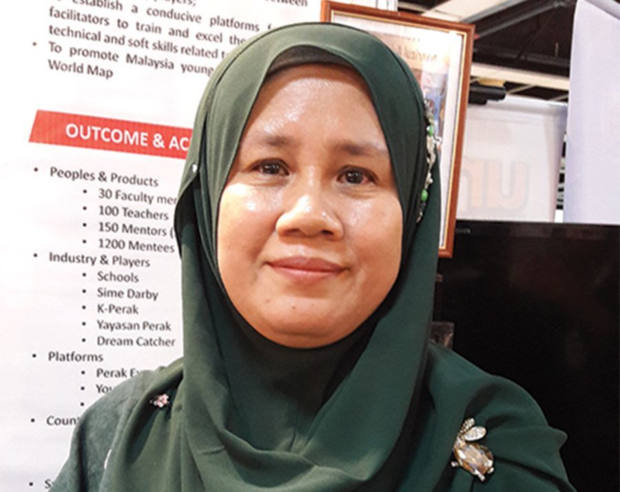 UPSI Faculty of Science and Mathematics deputy dean (research and innovation) Haniza Hanim