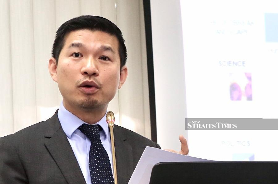 Dr Khor Swee Kheng, who is attached to the Blavatnik School of Government in University of Oxford, said this during 'The Science, Politics and Geopolitics of Coronavirus' forum organised by the Institute of Strategic and International Studies (ISIS) Malaysia. - NSTP/AMIRUDIN SAHIB