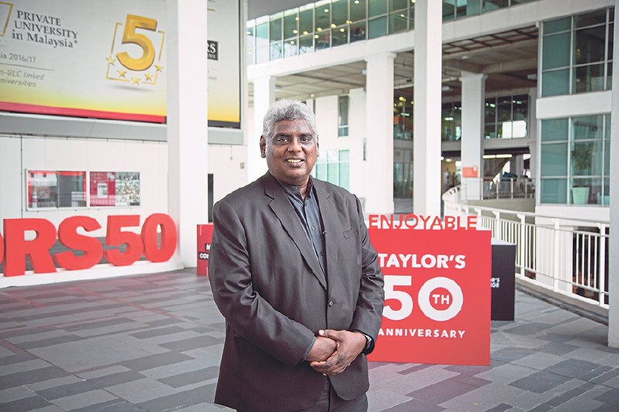 Head of the School of Education at Taylor's University Dr Logendra Stanley Ponniah.