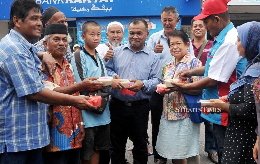 The distribution of bubur lambuk during Ramadan is highly anticipated by the country's Muslims.