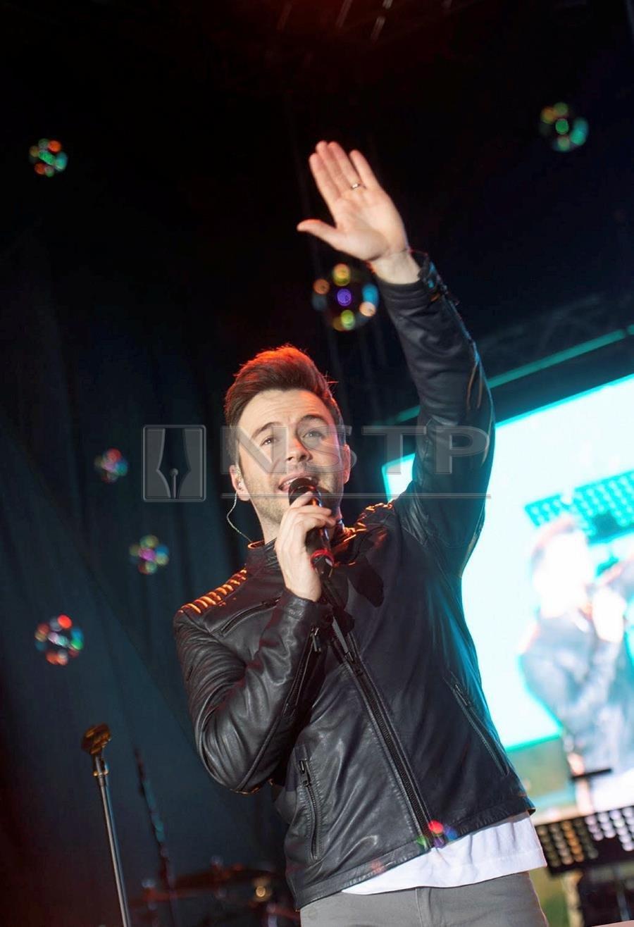 Showbiz: Malaysians captivated by Westlife's Shane Filan
