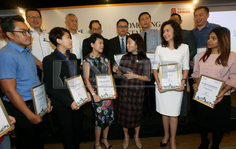 Deputy Women, Family and Community Development Minister Hannah Yeoh lauded Gamuda Foundation's move to establish Enabling Academy training centre to cater people with Autism spectrum disorder (ASD). NSTP/ROHANIS SHUKRI