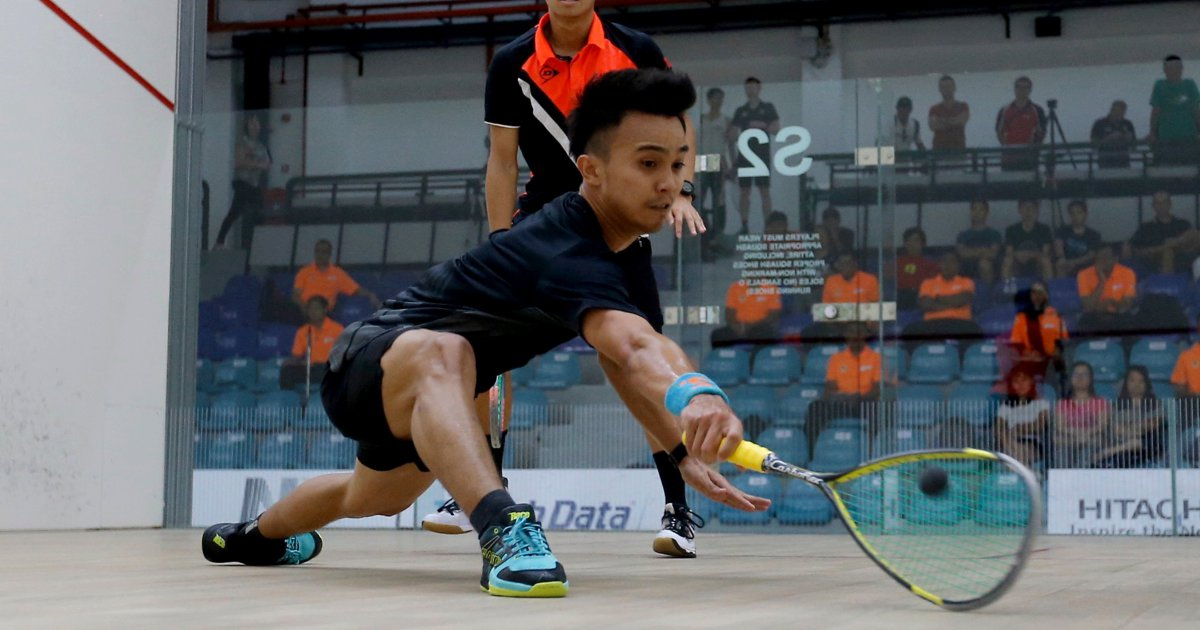(Squash) Eain Yow set to challenge Nafiizwan for No 1 spot