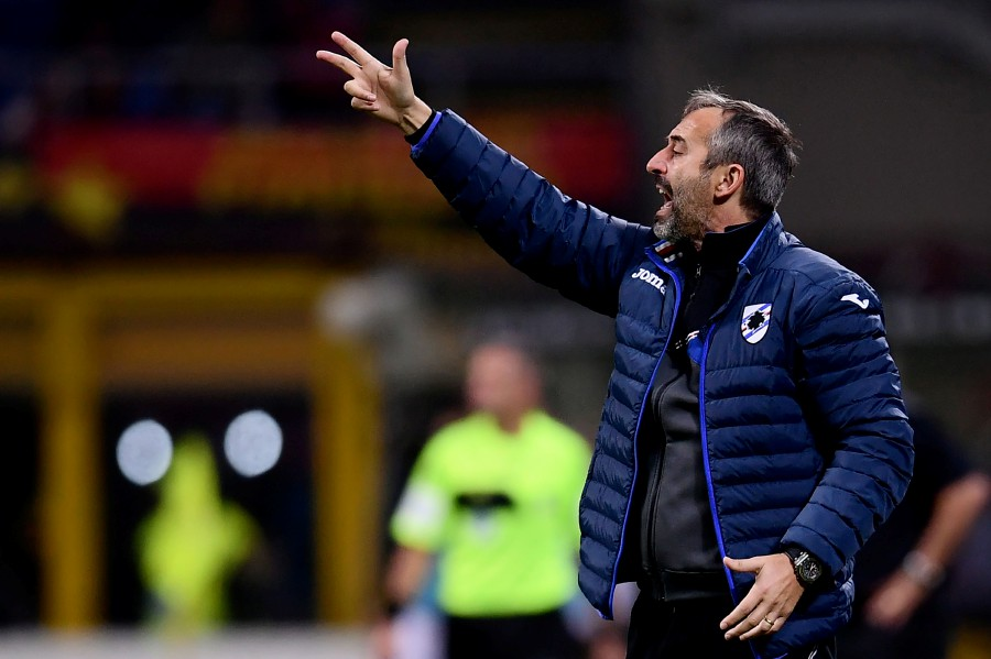 Former Sampdoria boss Marco Giampaolo has been appointed new coach of AC Milan on a two-year deal, the Serie A side announced on Wednesday. -- AFP photo