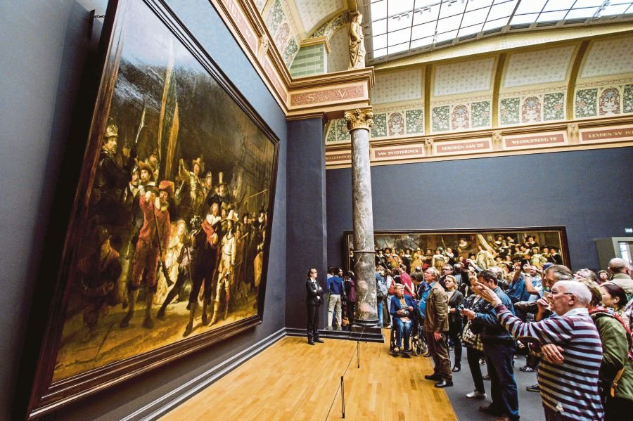 Museum starts 'live' restoration of Rembrandt masterpiece | New