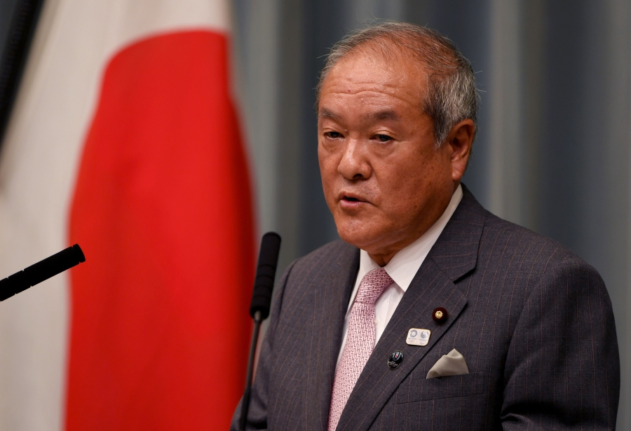 Japan names new Olympics minister after gaffes | New Straits Times