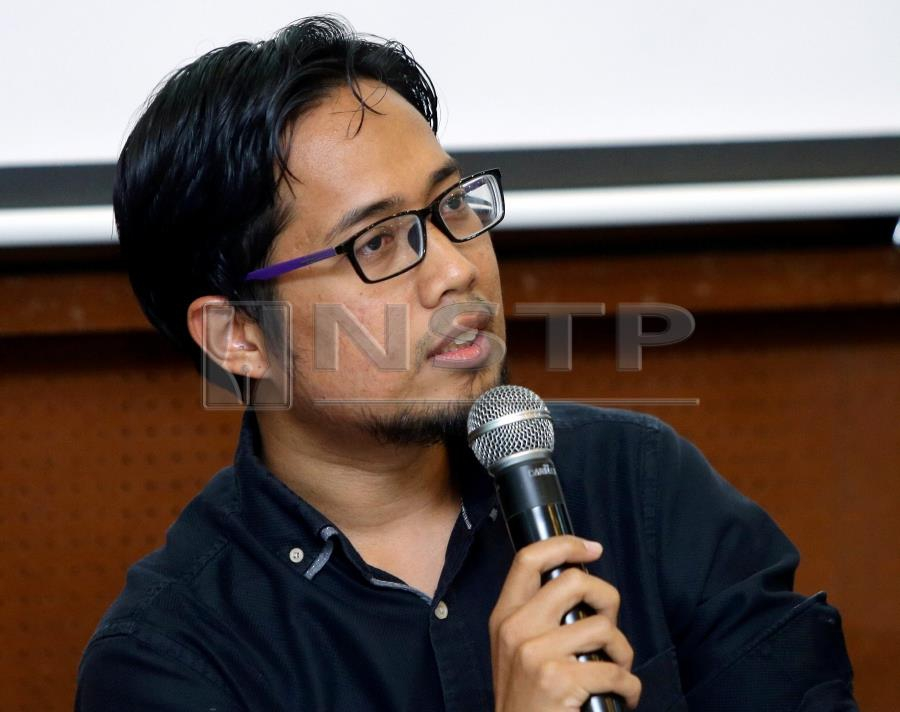Muslim Youth Movement of Malaysia (ABIM) secretary-general Muhammad Faisal Abdul Aziz said the new law should be drafted in line with the Federal Constitution. (NSTP/ AZIAH AZMEE)