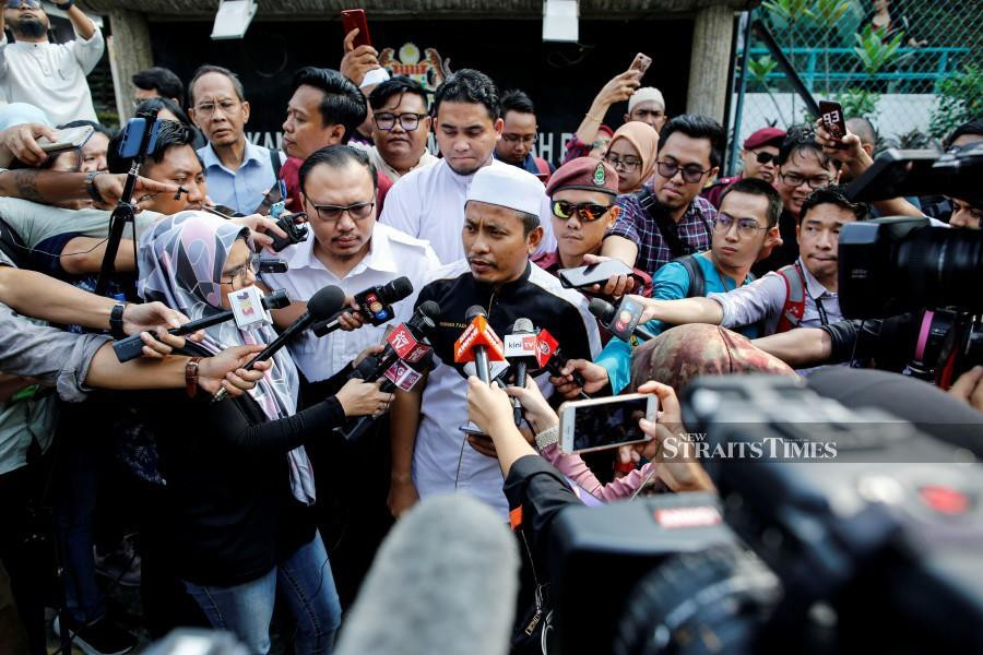 Pas Youth deputy chief, Ahmad Fadhli Shaari says the party will always support whichever party or whoever it feels is doing good for the nation and its people. - NSTP/File pic