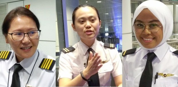 Female pilots make debut in Malaysia Airlines | New Straits