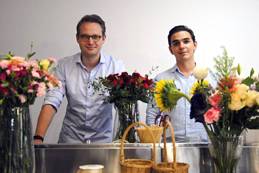 Both Frassa (left) and Lotz continue to improve on its services and research and development to offer more variants of flowers to the growing market.