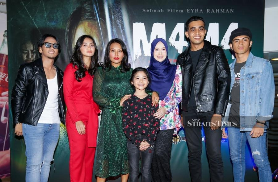 Cast of M4M4. NSTP/ AZIAH AZMEE