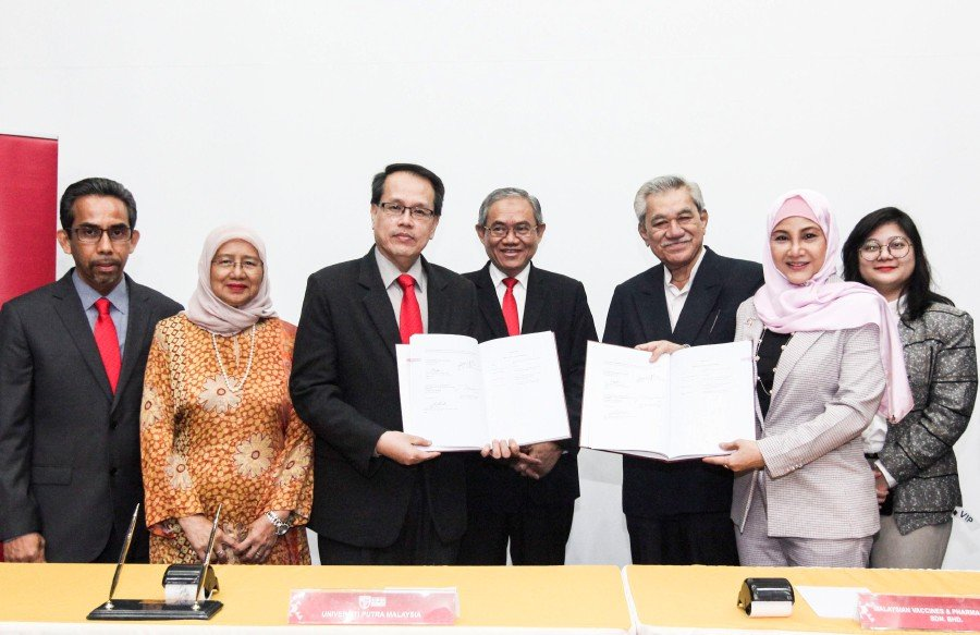More priority should be given to local vaccines to boost the country's vaccine industry.GAMBAR IHSAN UNIVERSITI PUTRA MALAYSIA (UPM).