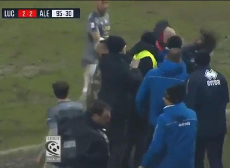 Italian Coach Banned For Five Months Head Butting Rival