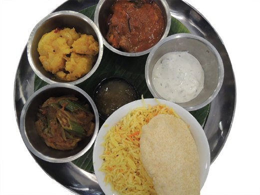 Good Old Days restaurant on Singapore's Sentosa Island offers authentic local cuisine at reasonable prices. The South Indian set is a favourite with diners.